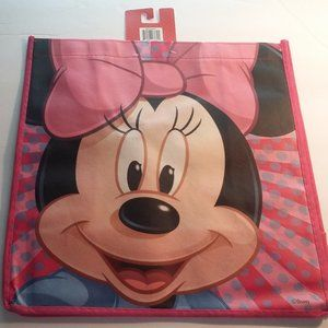 Smiling Minnie Mouse with Hot Pink Bow Tote Bag